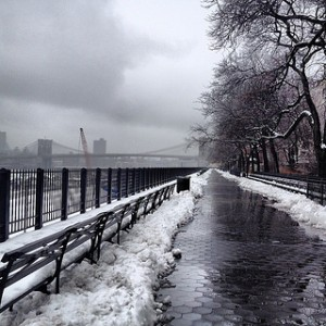 At least they shoveled the Brooklyn Promenade.