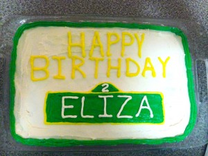 Elizas 2nd bday cake_Web