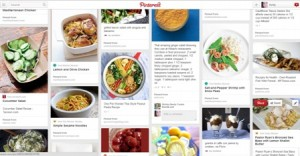 My trusty recipe board on Pinterest