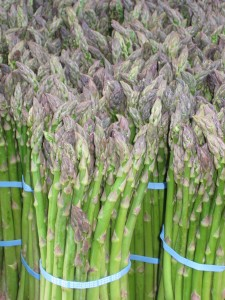 Asparagus - where have you been all winter!?