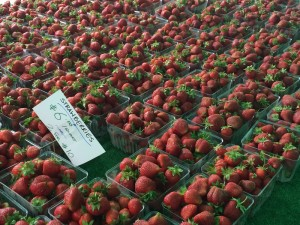 Strawberries at Boro Hall